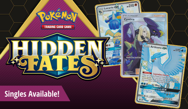 Hidden Fates singles available now