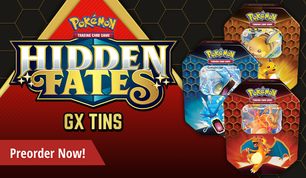 Hidden Fates - GX Tins