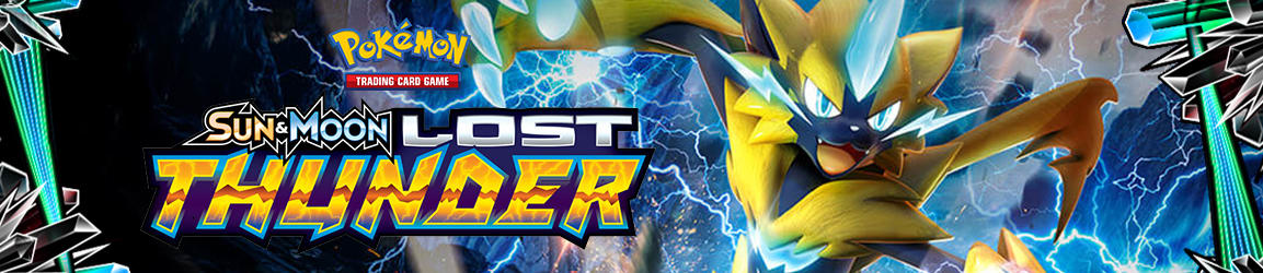 Pokemon - Sun and Moon: Lost Thunder