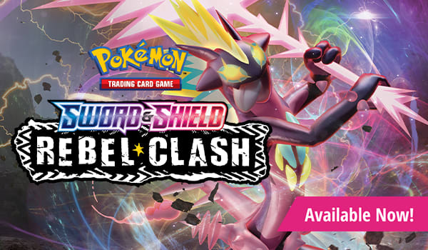 Sword and Shield Rebel Clash available now!