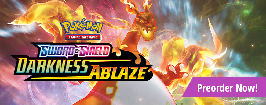 Preorder Sword and Shield Darkness Ablaze today!