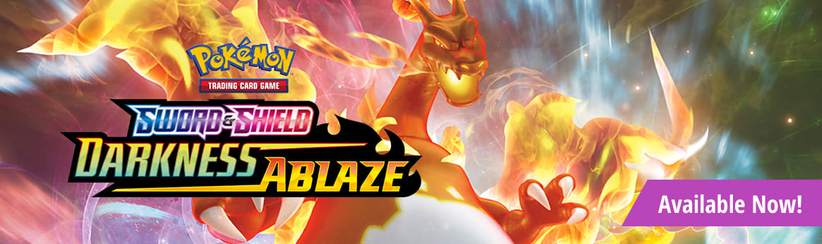 Sword and Shield Darkness Ablaze available now!