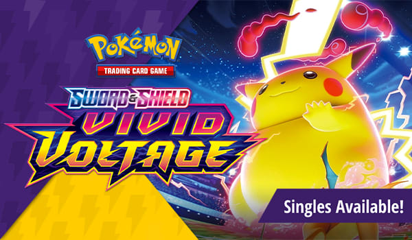 Sword and Shield Vivid Voltage available now!