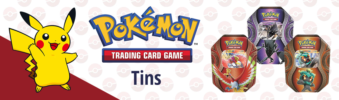Pokemon Tins available now