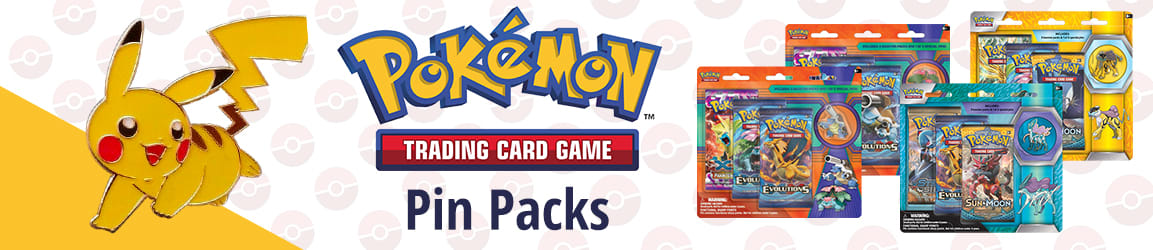 Pokemon - Pin Packs