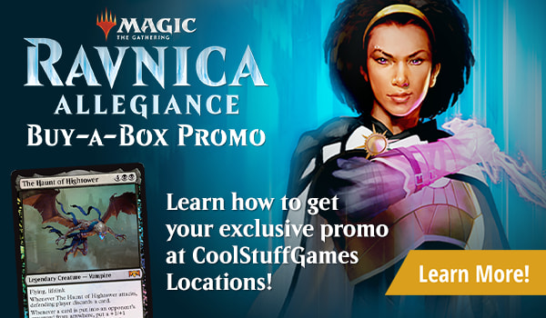 Ravnica Allegiance Buy-a-Box Promotion