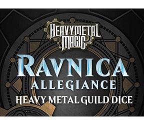 Ravnica Allegiance - Heavy Metal Magic Guild Dice