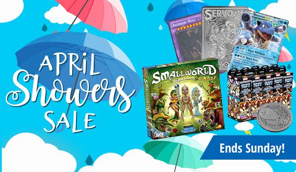 April Showers Sale ends Sunday!
