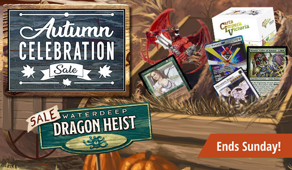 Autumn Celebration Sale