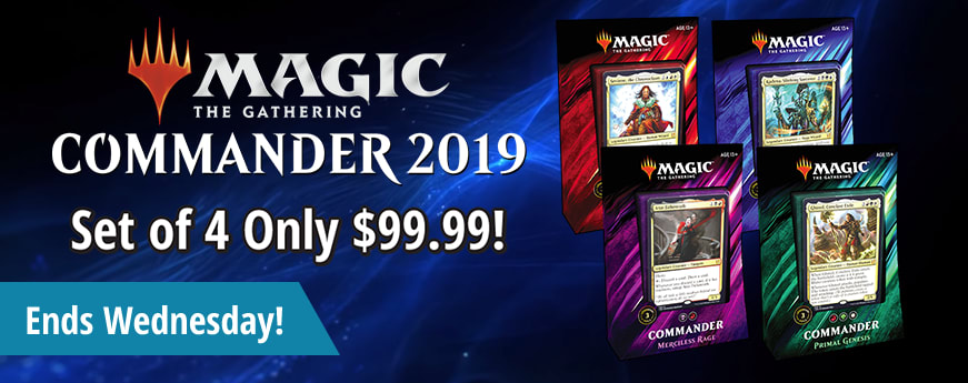 Commander 2019 on sale until Wednesday