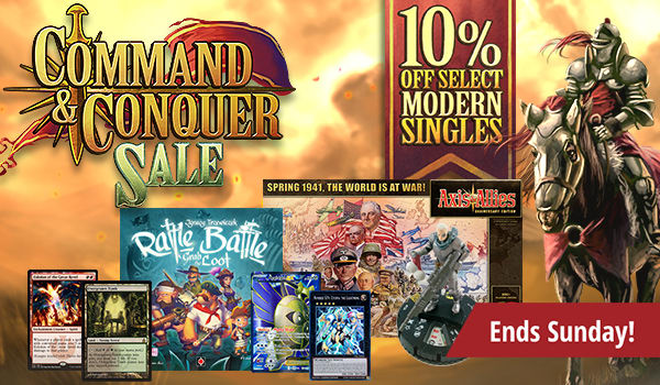 Command and Conquer Sale