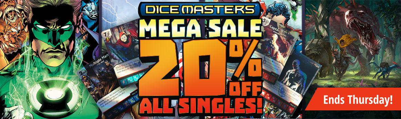 Dice Masters Mega Sale