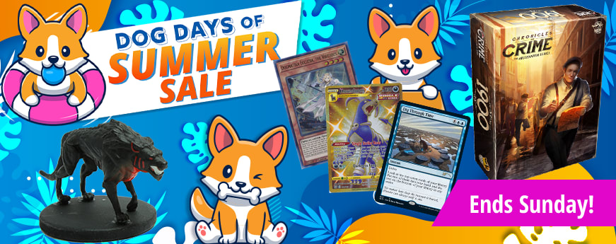Dog Days of Summer Sale ends Sunday!