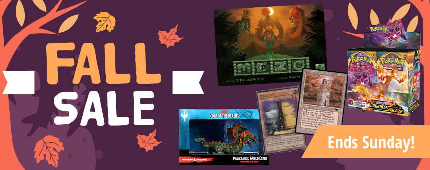 Fall Sale ends Sunday!