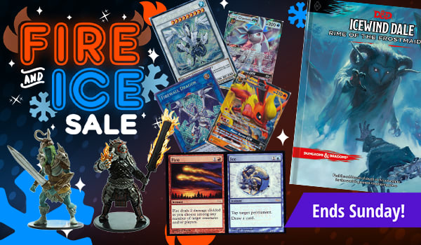 Fire And Ice Sale ends Sunday!