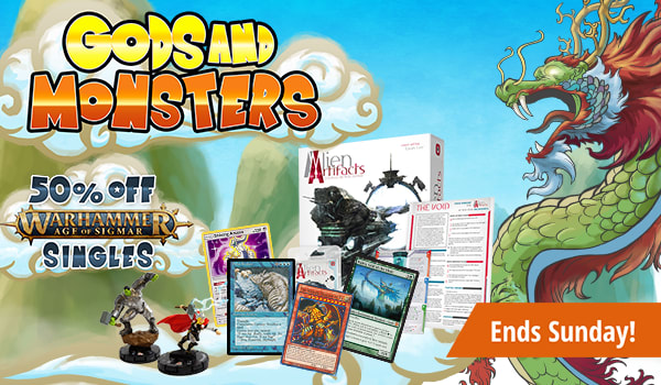 Gods and Monsters Sale