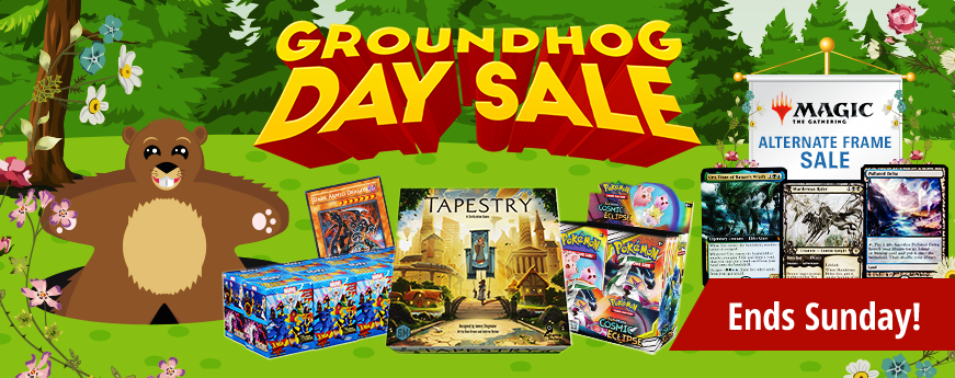 Groundhog Day Sale Ends Sunday