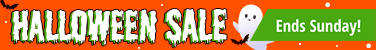 Halloween Sale ends Sunday!