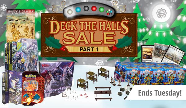 Deck The Halls Sale Part 1 ends Tuesday!