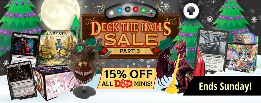 Deck The Halls Sale Part 3 ends Sunday!