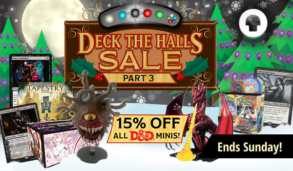 Deck The Halls Sale Finale ends Sunday!