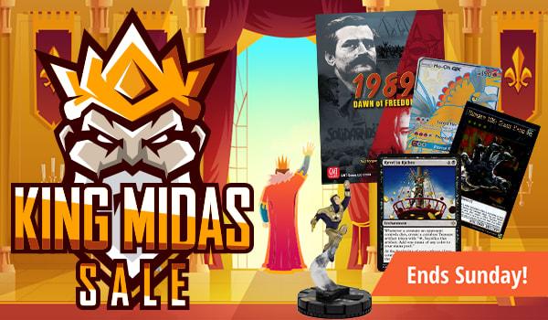 King Midas Sale ends Sunday!