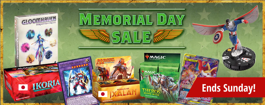 Memorial Day Sale ends Sunday!