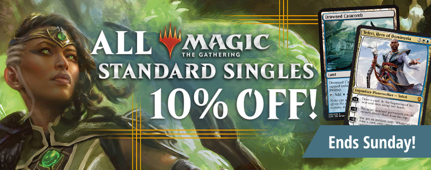 10% Off MTG Standard Sale