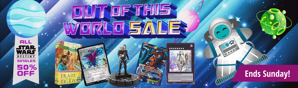 Out of This World Sale ends Sunday