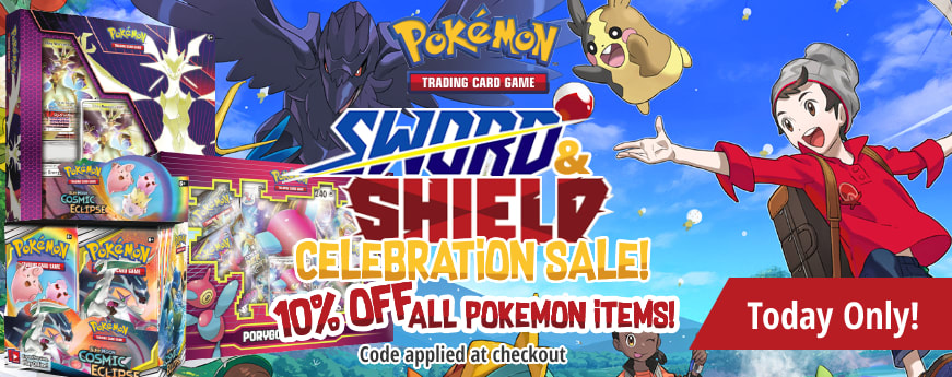 Pokemon Sword and Shield Sale ends tonight!