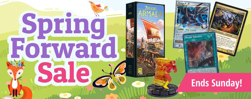 Spring Forward Sale ends Sunday!