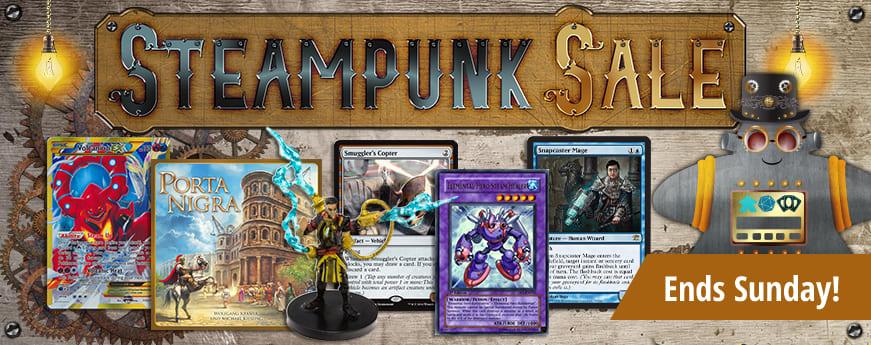 Steampunk Sale ends Sunday!
