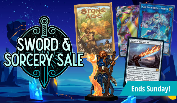 Sword and Sorcery Sale Ends Sunday!