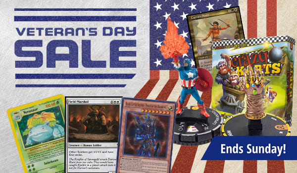 Veterna's Day Sale ends Sunday!