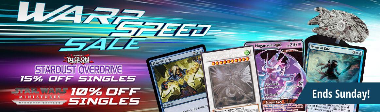 Warp Speed Sale