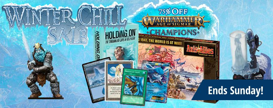 Winter Chill Sale