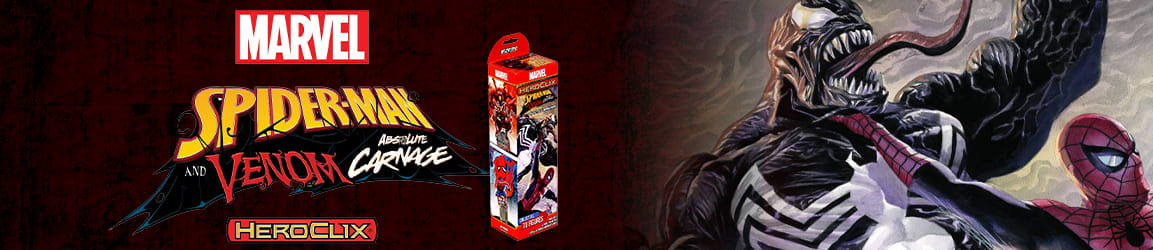 Heroclix - Marvel Spider-Man and Venom Absolute Carnage