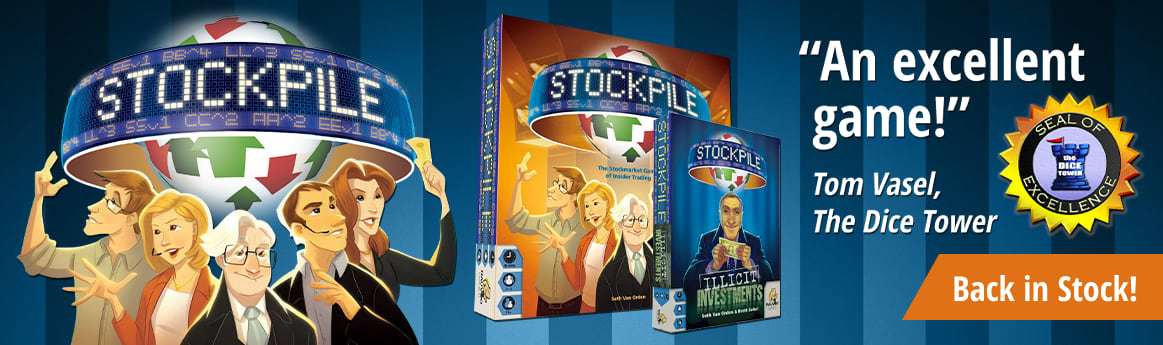 Stockpile and Illicit Investments Expansion back in stock