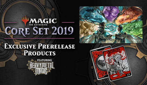 Magic: The Gathering - Exclusive Core 2019 Heavy Metal Magic Products