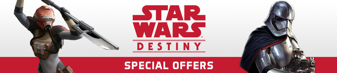 Star Wars Destiny Special Offers