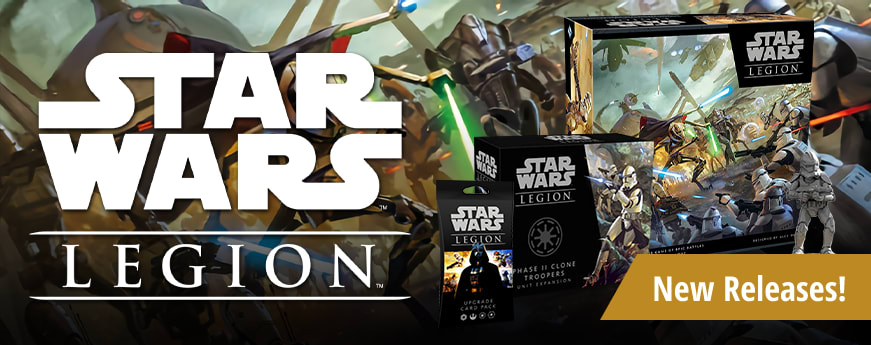 Star Wars: Legion Releases