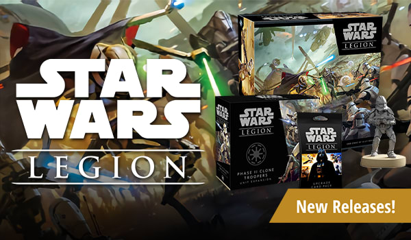 Star Wars: Legion Releases