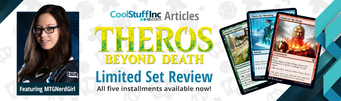 Theros Beyond Death Limited Set Review Featuring MTGNerdGirl