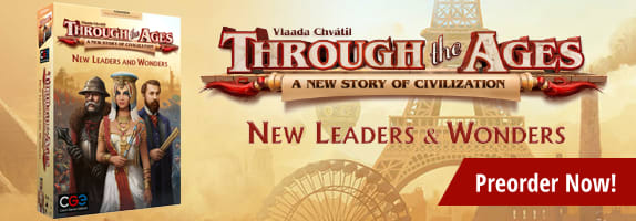 Preorder Through the Ages: New Leaders and Wonders Expansion today