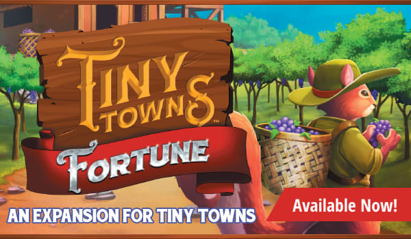 Tiny Towns: Fortune expansion available now