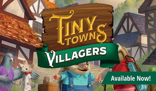 Tiny Towns Villagers Expansion available now!
