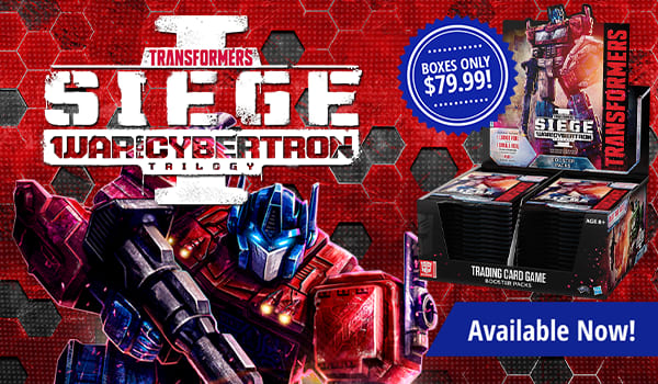 Transformers War for Cybertron Siege 1 Booster Boxes only $79.99