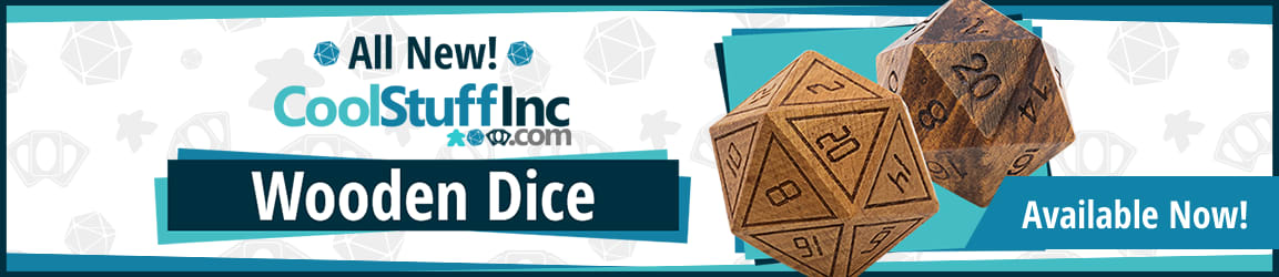 CoolStuffinc Wooden Dice