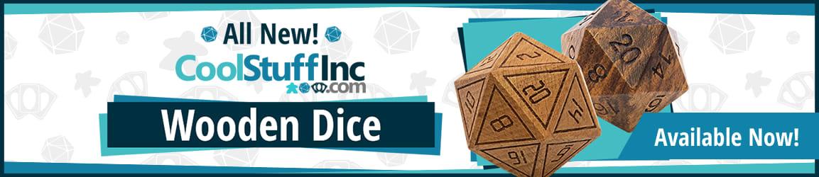 CoolStuffinc Wooden Dice