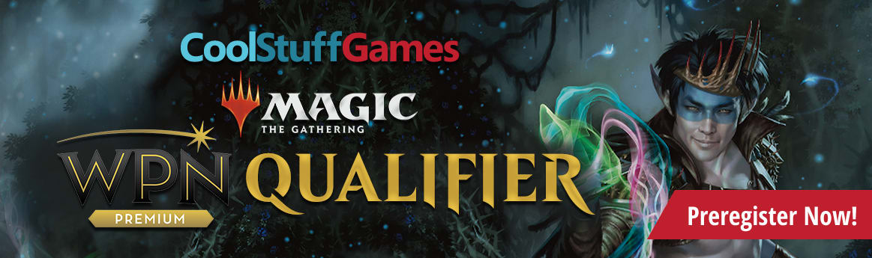 Preregister online for Cool Stuff Games WPN Qualifier